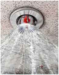 Don't Fire Sprinklers Cause Extensive Water Damage?